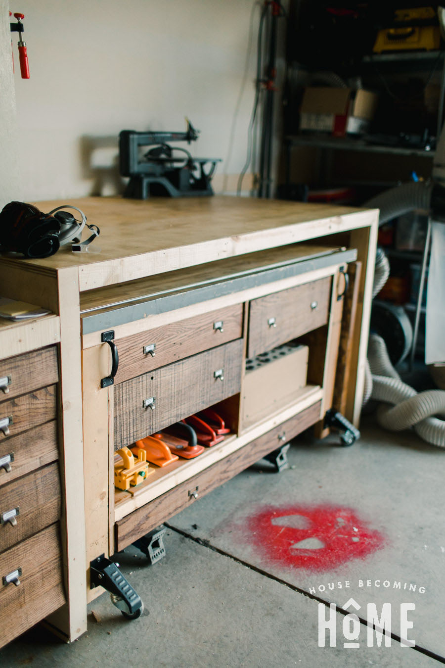 Miter Workbench Right Wing