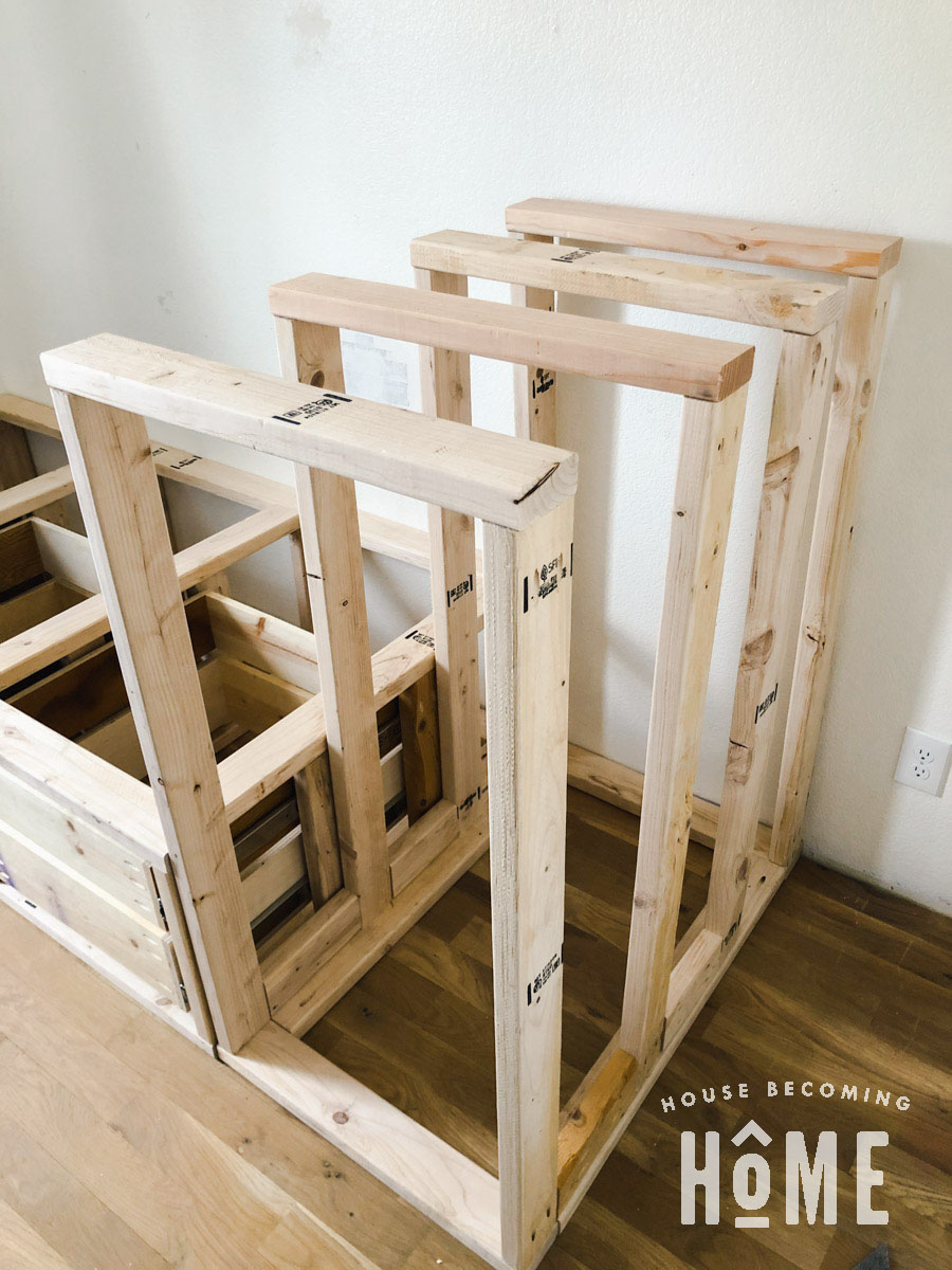 Bunk Bed Center Support Structure