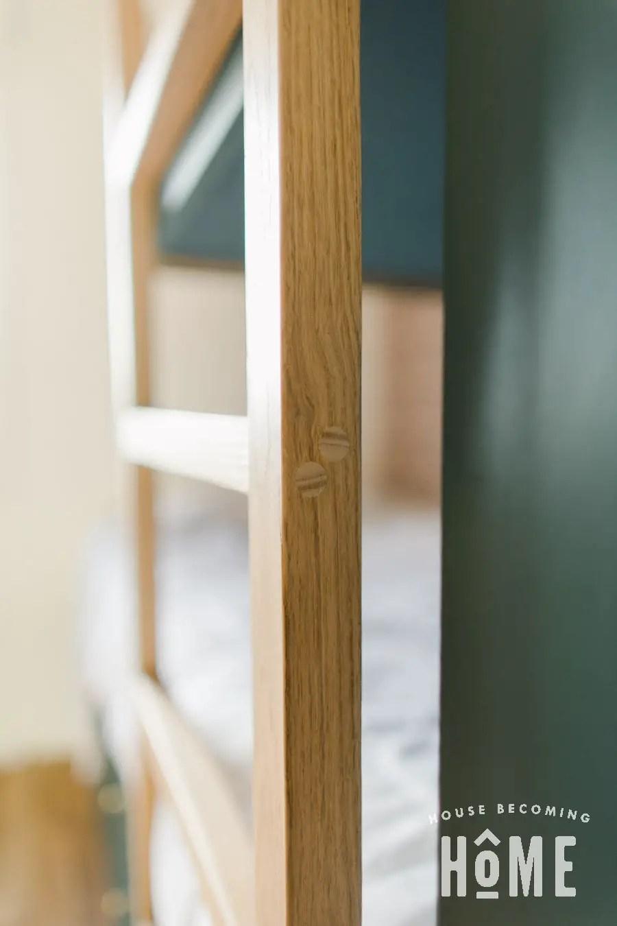DIY Bunk Bed Ladder