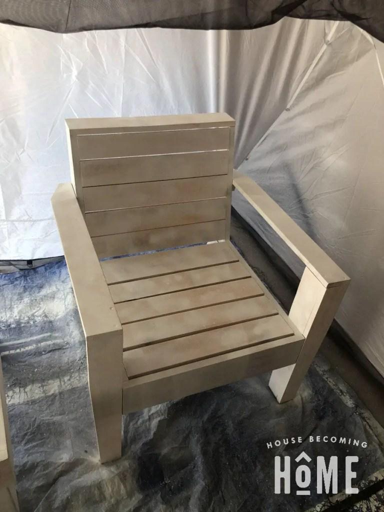 Primed DIY Adirondack Chair