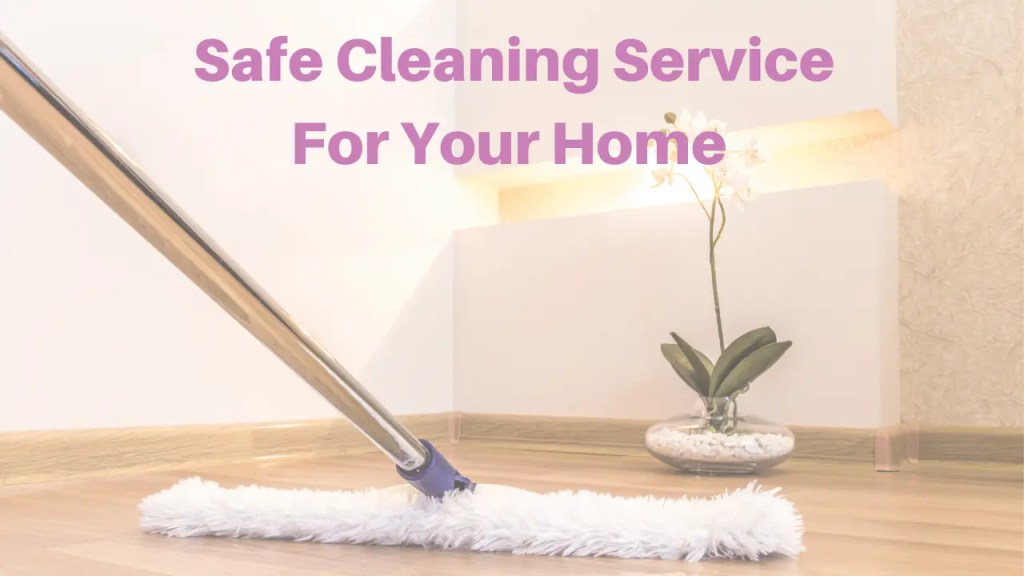 cleaning house floor with mop