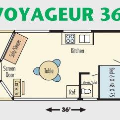 Smallest Sleeper Sofa Atlanta Outlet 36' Voyageur Class Houseboat