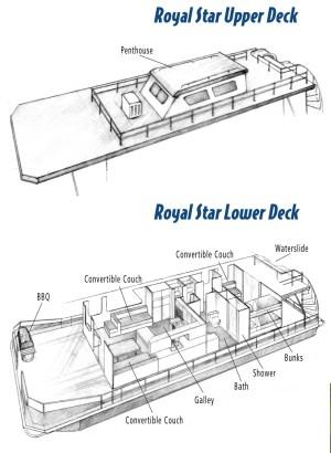 Royal Star  HouseBoats