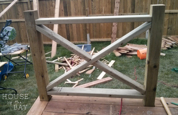 deck building railing