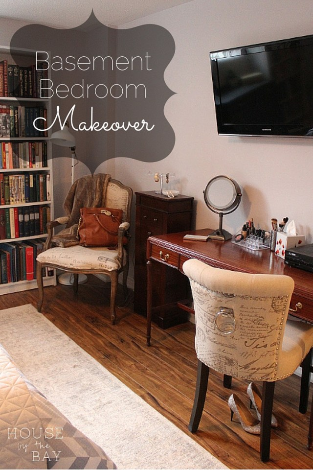 Basement Bedroom Makeover