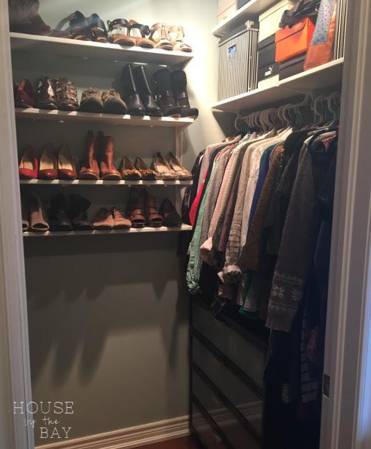 closet doors inside closet