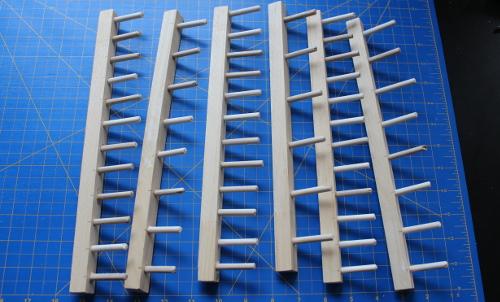 diy thread rack