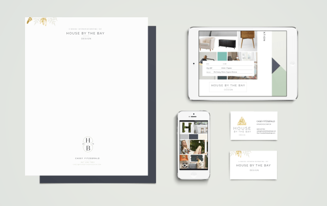 House by the Bay Design Branding