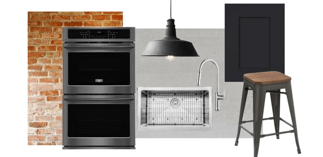 How To Style Frigidaire Black Stainless Steel Appliances: Industrial Kitchen