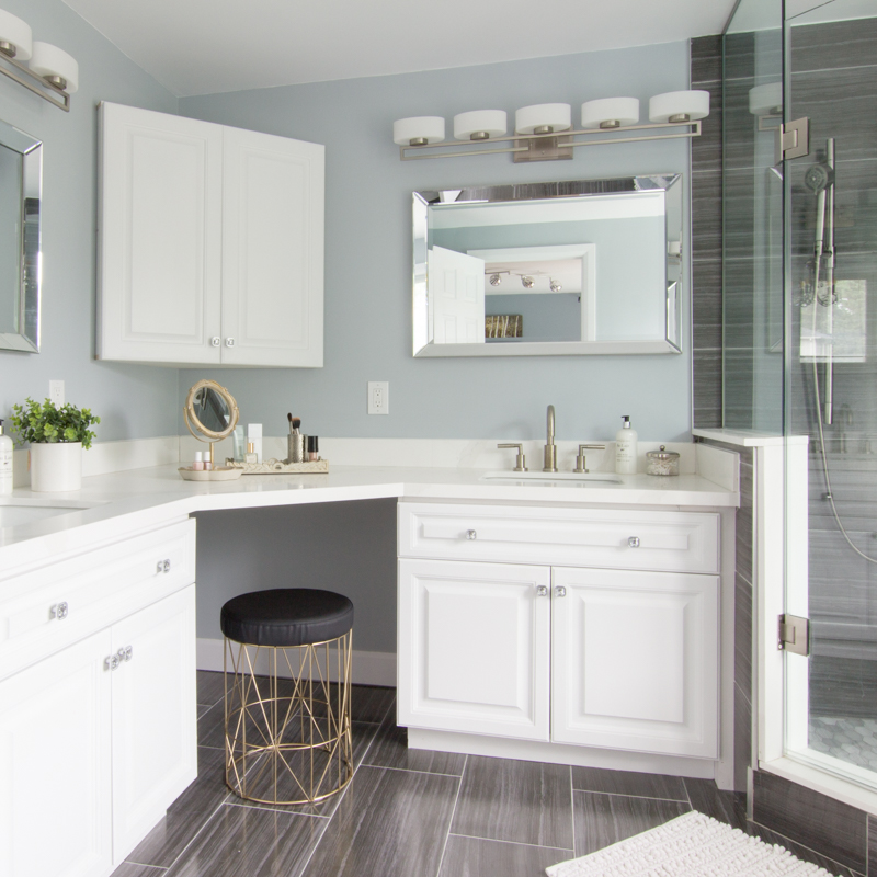 Elegant Bathroom Makeovers: Elegant Master Bathroom Makeover