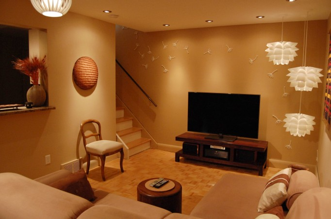tv stand for small living room decorating ideas christmas let there be light! part 7: taa-daaa! - housecraft: diy ...