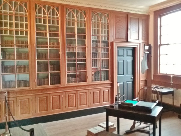 George Washington's home office