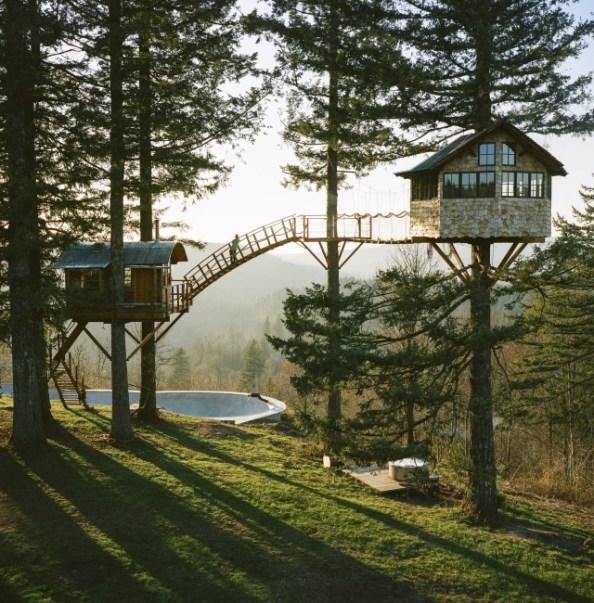 tree house in Oregon