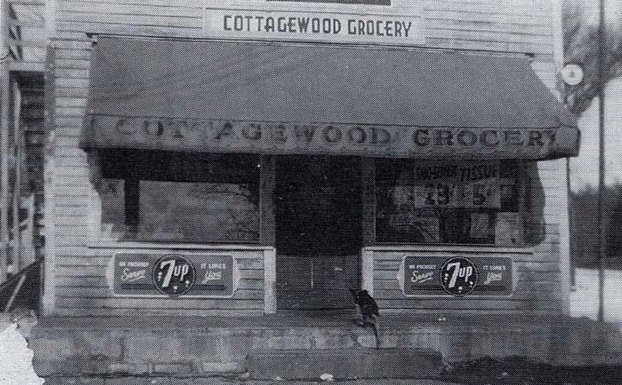 Cottagewood General Store, Deephaven, Minnesota historic photo