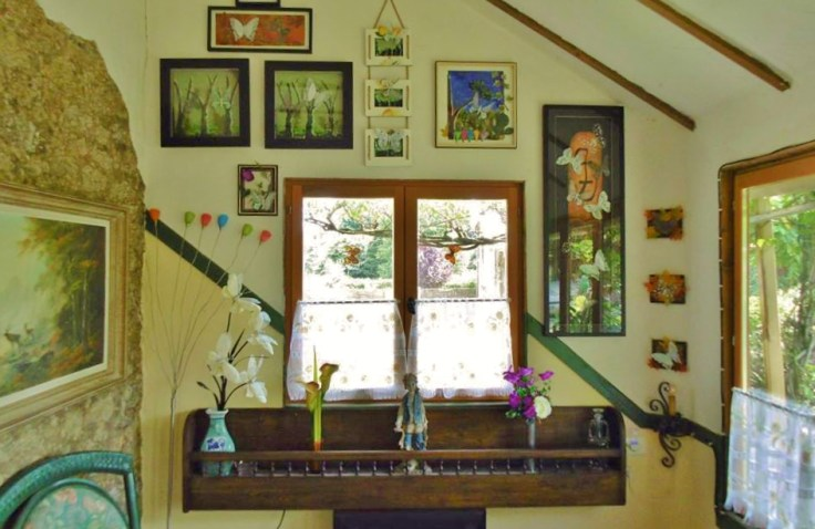 French country farm house interior