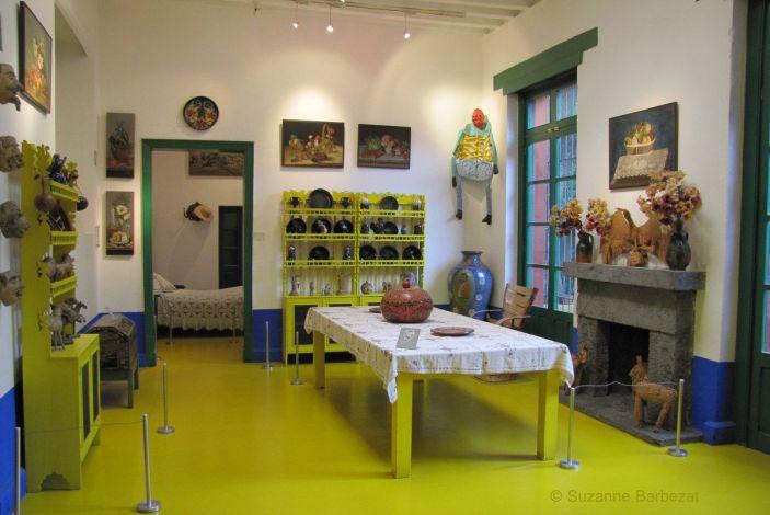 inside Frida Kahlo's house