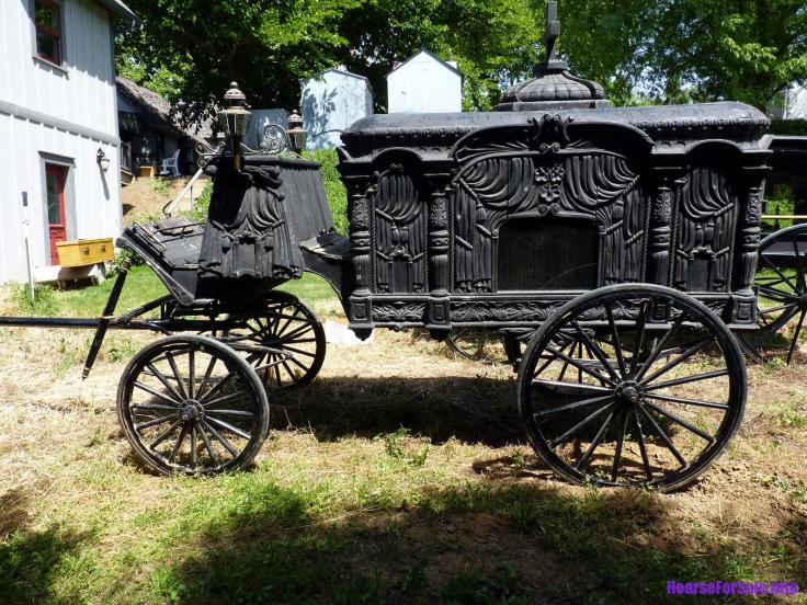 antique horse drawn hearse for sale