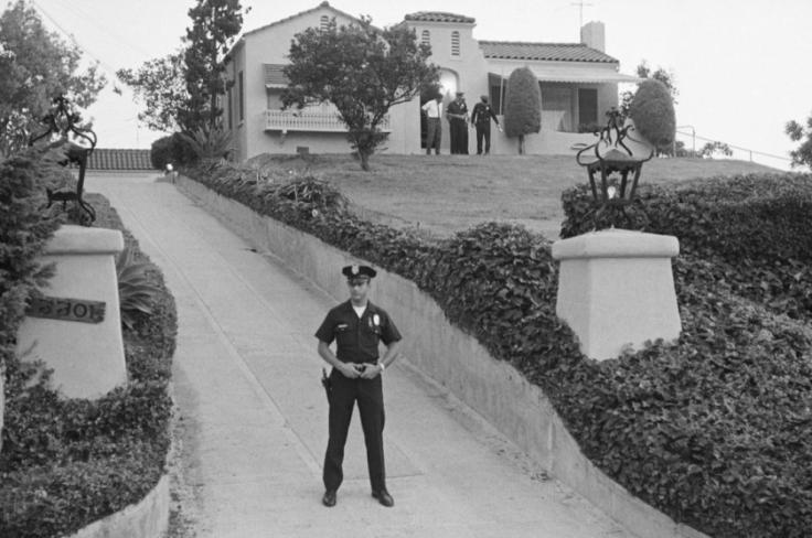 LaBianca Manson murder house in 1969