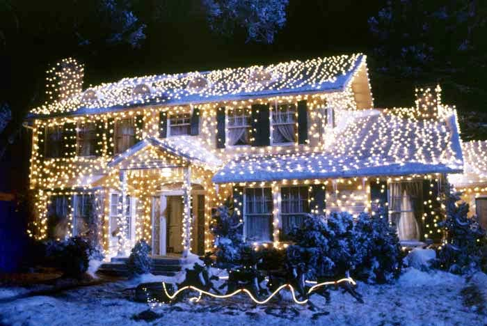 Griswold family home in National Lampoon's Christmas Vacation