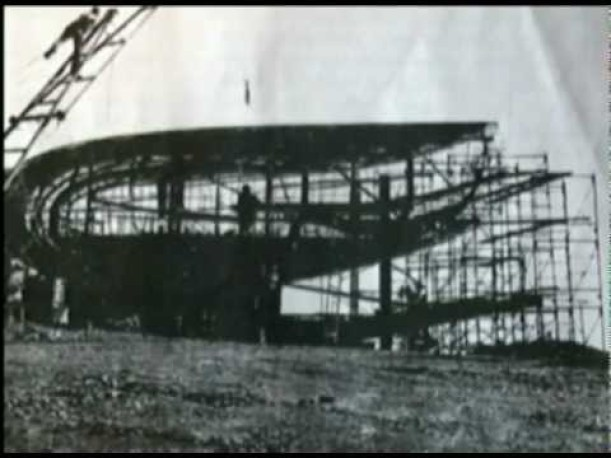 Colorado Spaceship House under construction