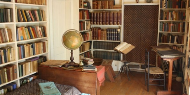 Edna St. Vincent Millay's personal study