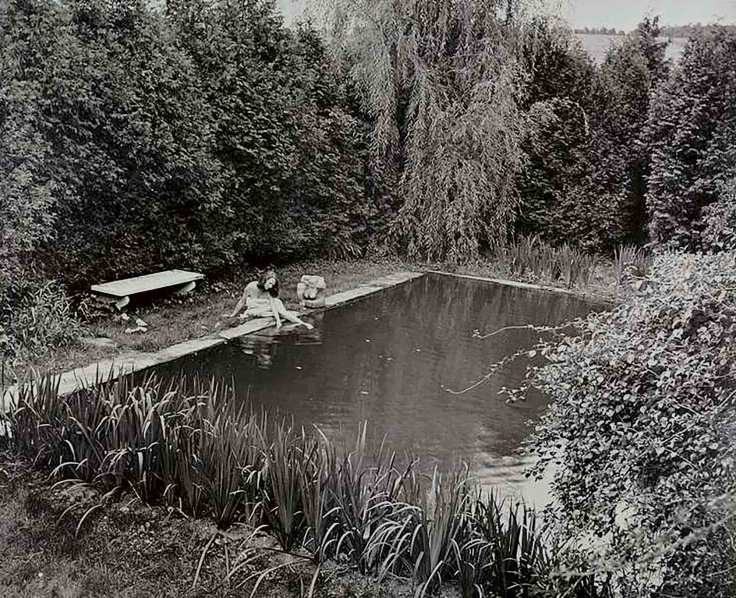 Edna St Vincent Millay house pool