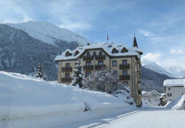 Hotel Schweizerhof in the Swiss Alps