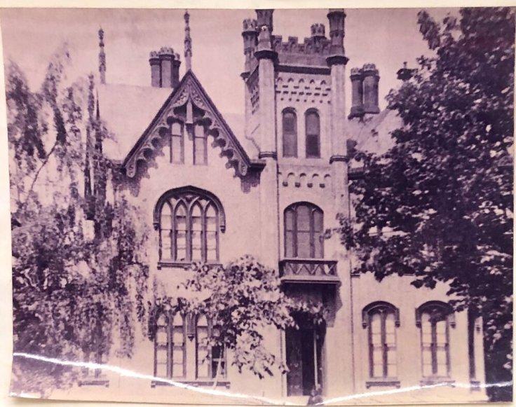 James Seymour Mansion in Auburn New York