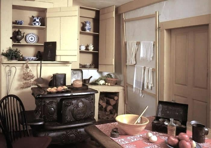 Louisa May Alcott House Orchard House kitchen