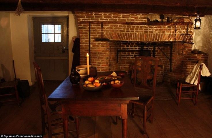inside the Dyckman House