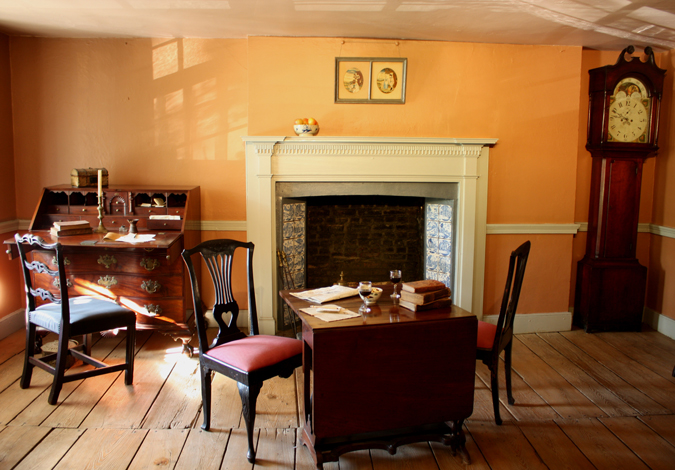 inside Manhattan's last original farmhouse: The Dyckman House
