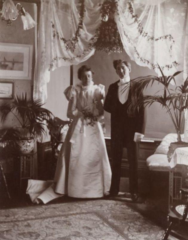 Victorian wedding photos