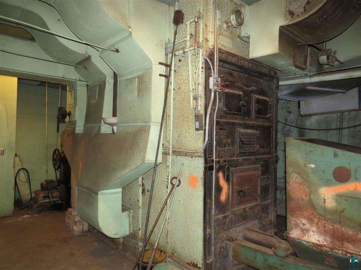 old school boiler