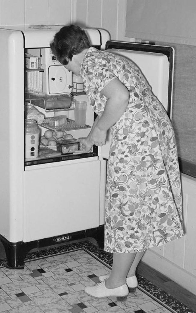 vintage house dress