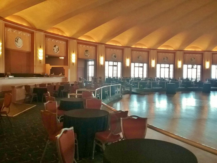 the Avalon Casino ballroom