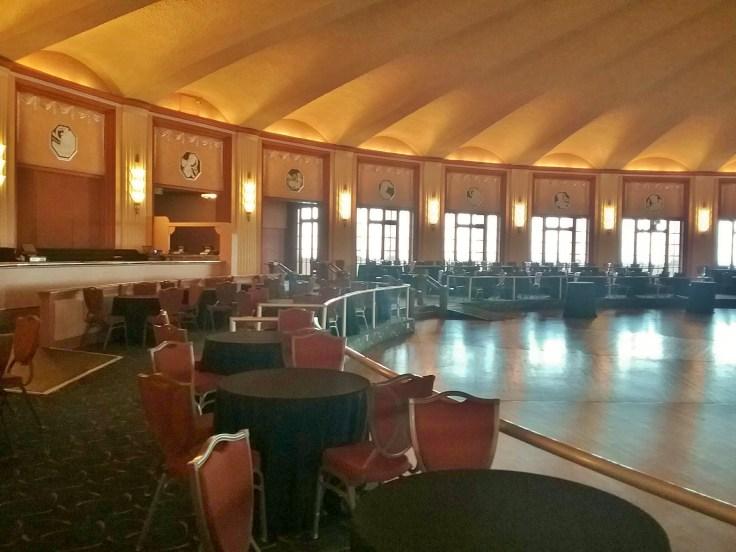 the Avalon Casino ballroom