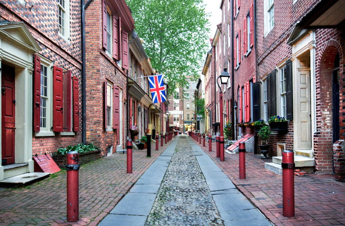 Elfreth's Alley Philadelphia, PA photo