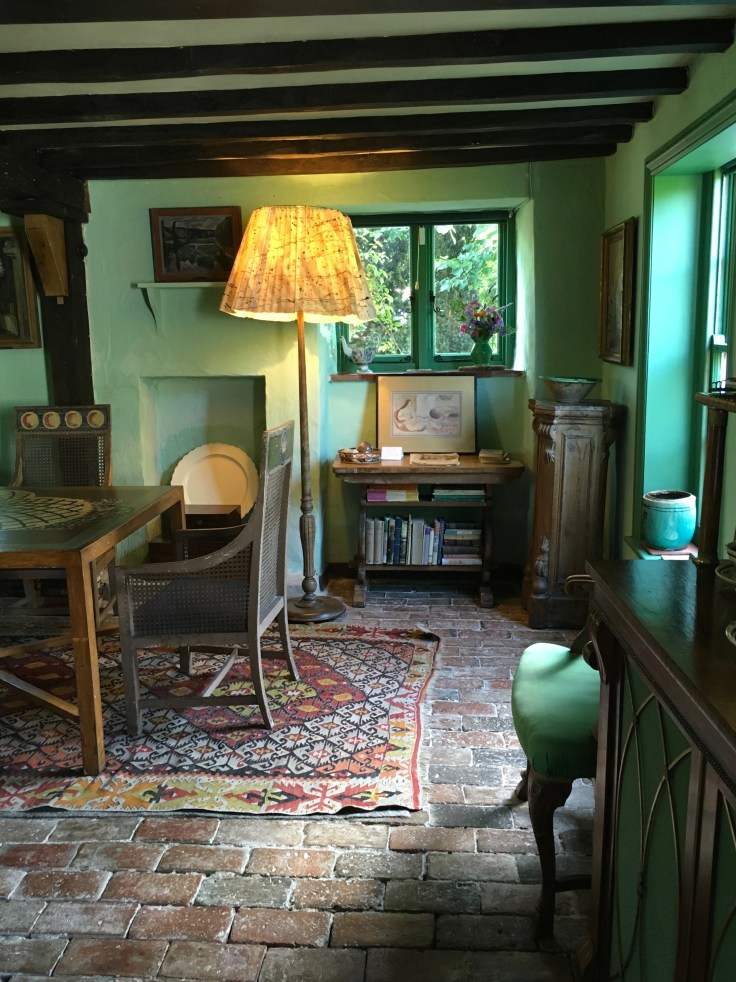inside Monk's House Virginia Woolf's house