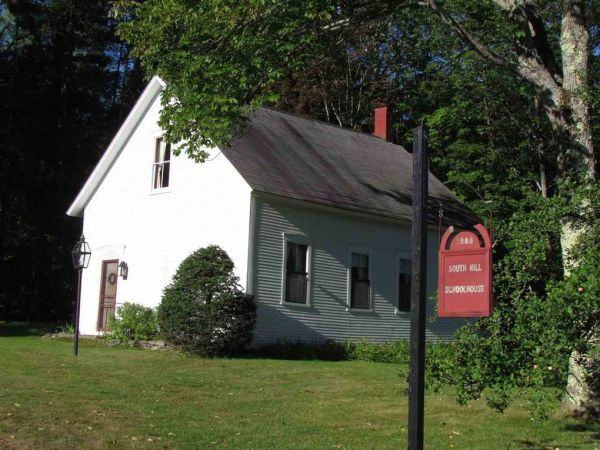South Hill School House in Vermont