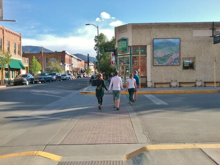downtown Salida Colorado