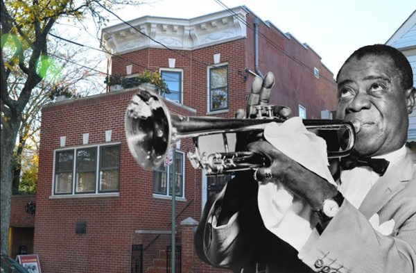 Louis Armstrong's vintage time capsule home exterior