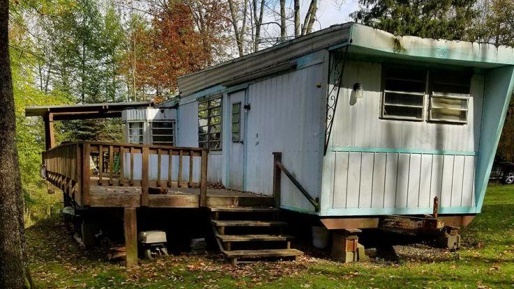 vintage mobile home remodel
