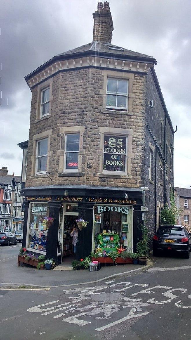 Scrivener's Bookshop in Buxton England