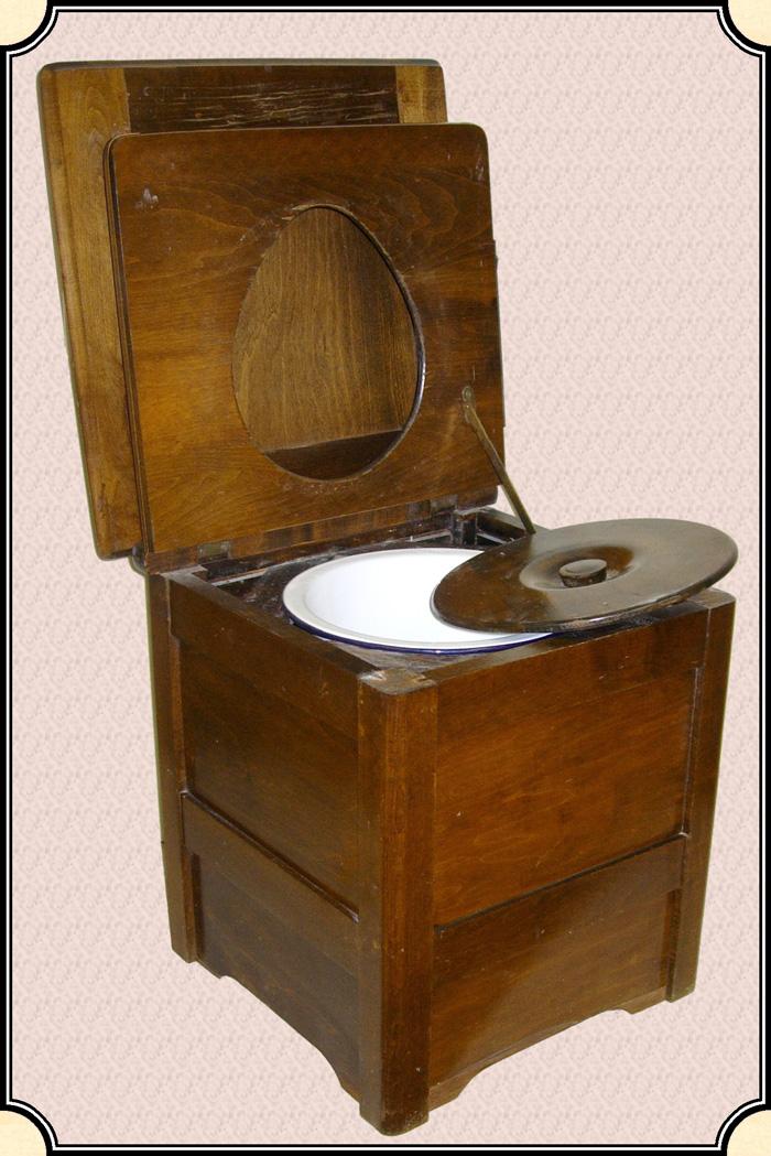 antique potty