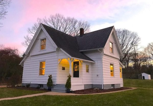 restored Connecticut farmhouse