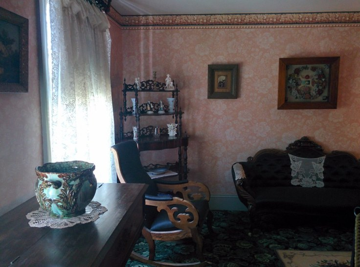 inside Anne of Green Gables House on PEI