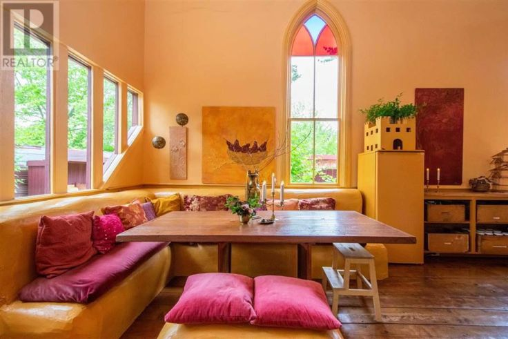 old church converted to home in Nova Scotia