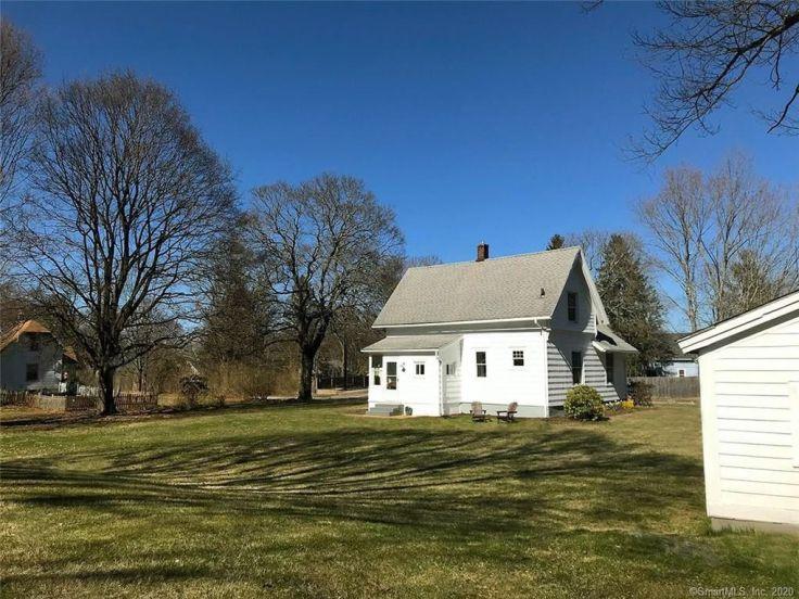 restored Connecticut farmhouse