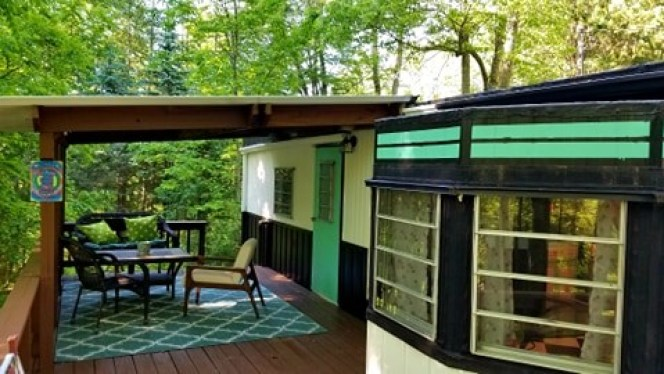 Mid-century mobile home renovation