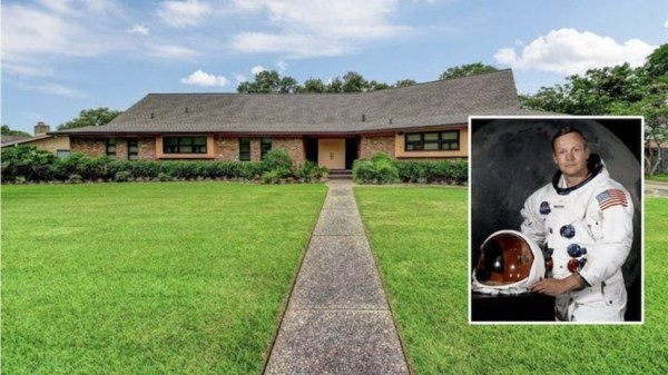 Neil Armstrong's former Houston home is for sale